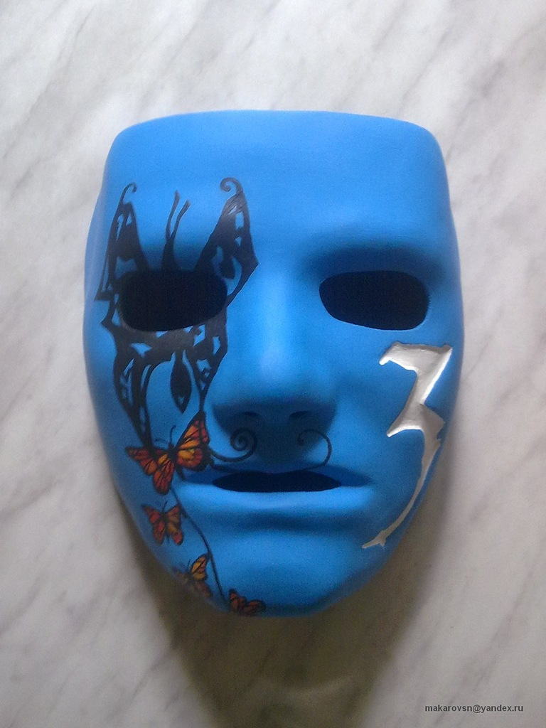Hollywood Undead Masks Johnny 3 Tears images